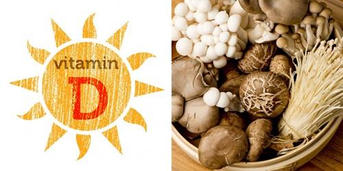Nấm cũng cấp cho cơ thể lượng lớn vitamin D