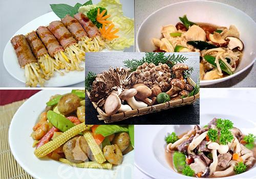 Giá trị dinh dưỡng của nấm trong bữa ăn hàng ngày và chữa bệnh
