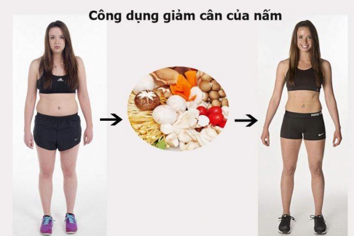 Nấm có công dụng giảm cân, giữ dáng hiệu quả
