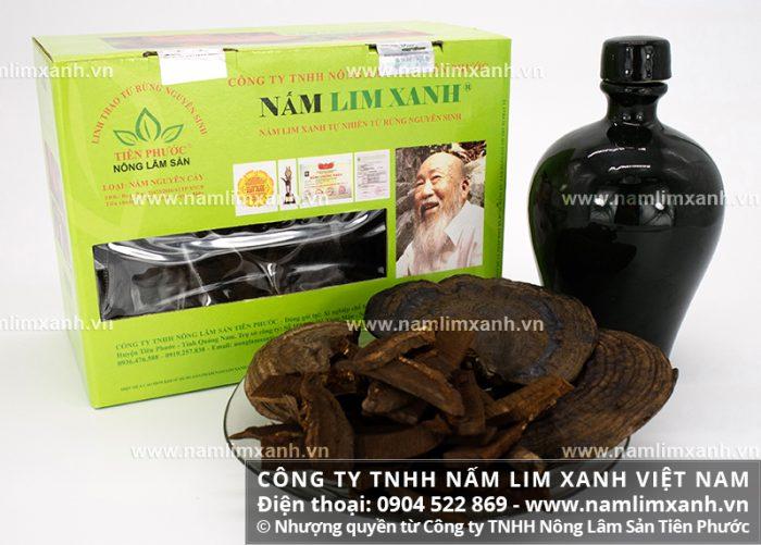 Công ty TNHH Nấm lim xanh Việt Nam là nơi chuyên phân phối sản phẩm nấm lim rừng đạt chuẩn