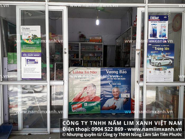 Địa chỉ bán nấm cây lim chính hãng của Công ty TNHH Nấm lim xanh Việt Nam tại Kon Tum