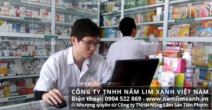 Địa chỉ bán nấm lim xanh chính hãng tại Điện Biên của Công ty TNHH Nấm lim xanh Việt Nam