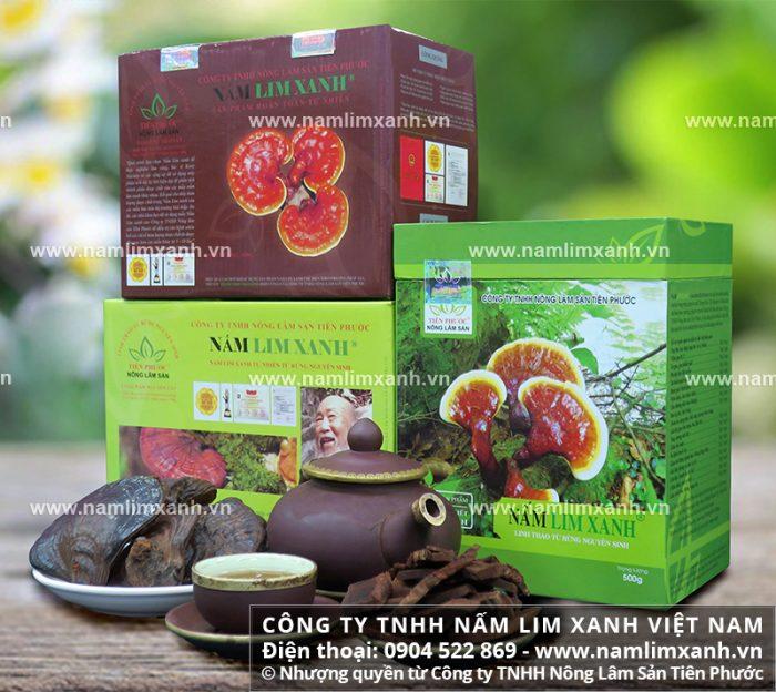 Nấm lim xanh Tiên Phước được phân phối bởi Công ty TNHH Nấm lim xanh Việt Nam