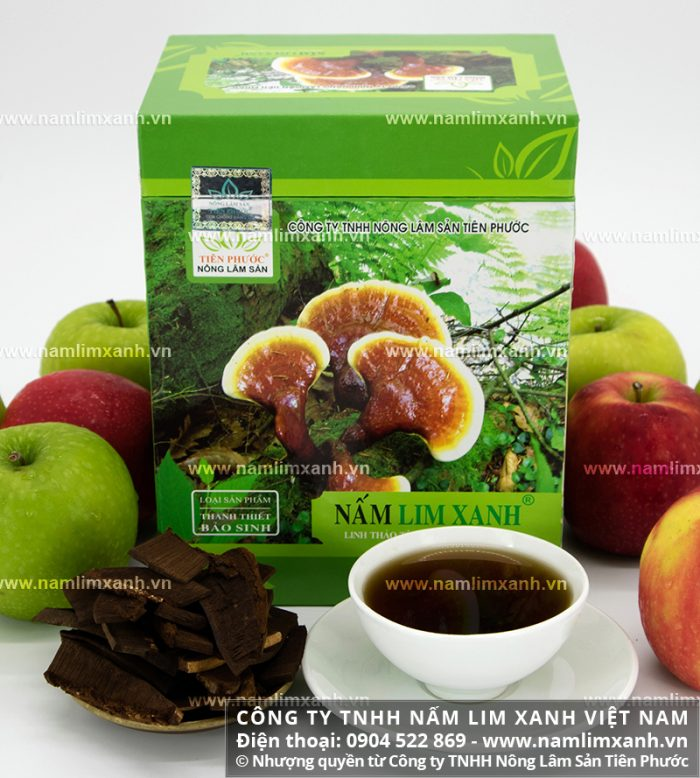 Sản phẩm Thanh Thiết Bảo Sinh của Công ty TNHH Nấm lim xanh Việt Nam