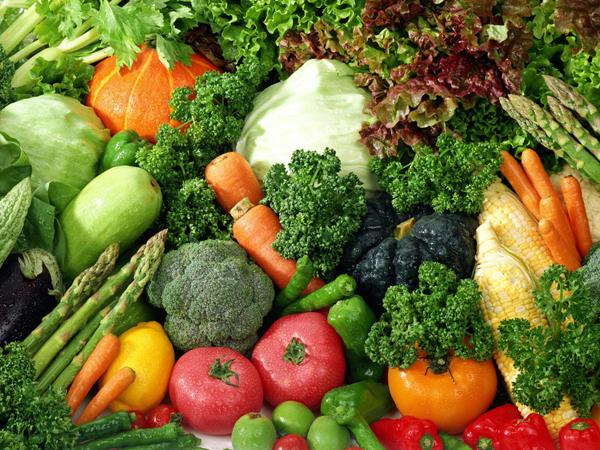 Dinh dưỡng cho bệnh nhân xơ gan với rau củ quả tươi