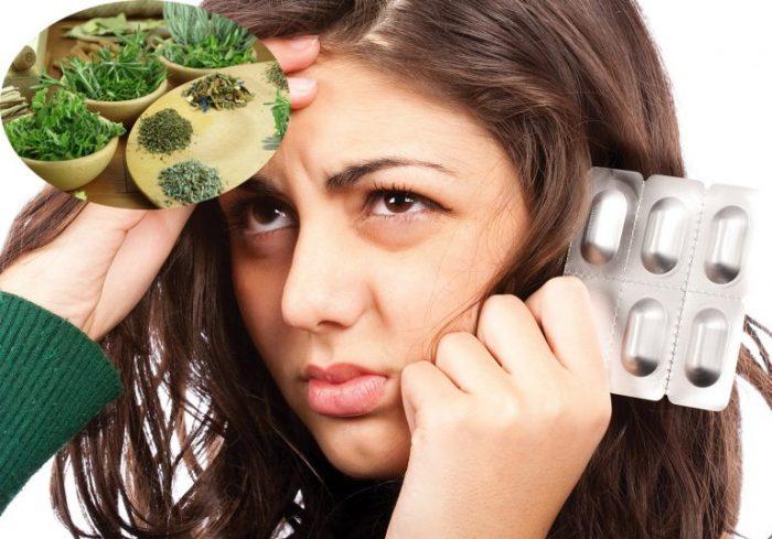 Thay vì sử dụng thuốc Tây với nhiều tác dụng phụ bạn có thể dụng các loại thảo dược thiên nhiên.