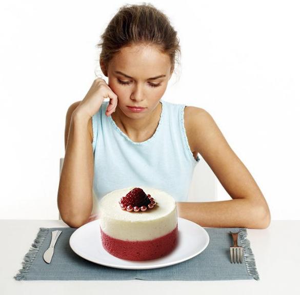Bị tiểu đường nên kiêng đồ ngọt.