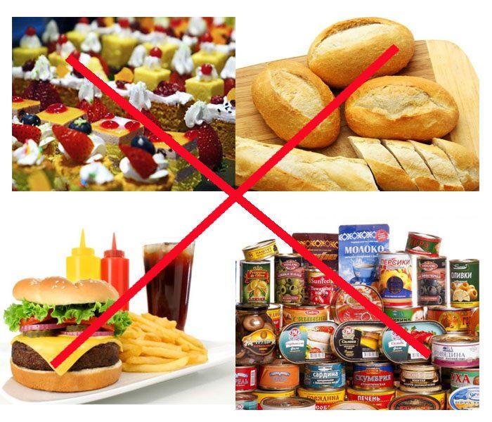 Những thực phẩm có hại cho người tiểu đường.
