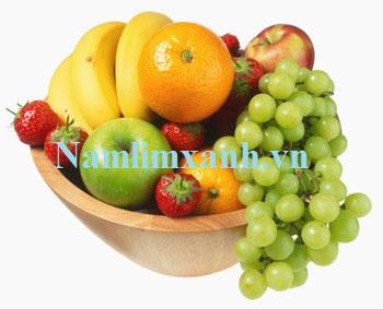hoa quả là nguồn thực phẩm rất tốt cho sức khỏe