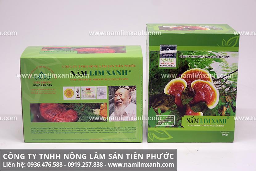 Nấm lim xanh loại nào tốt nhất với nấm lim loại thái lát và nguyên cây