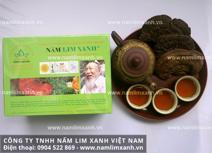 Hình ảnh sản phẩm Nấm lim xanh tự nhiên LoạiNGUYÊN CÂY