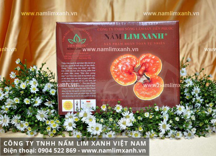Hình ảnh sản phẩm Nấm lim xanh tự nhiên LOẠI ĐÃ THÁI LÁT