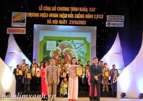 Công ty TNHH Nông Lâm Sản Tiên Phước - Thương hiệu nổi tiếng 2013