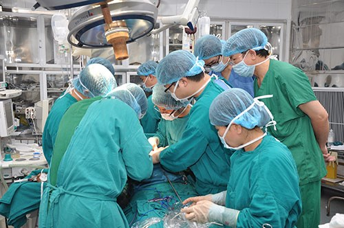 Phẫu thuật rất phổ biến trong việc điều trị ung thư thực quản