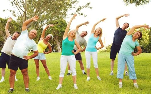 Tập thể dục giúp ngăn ngừa ảnh hưởng của mỡ máu cao.