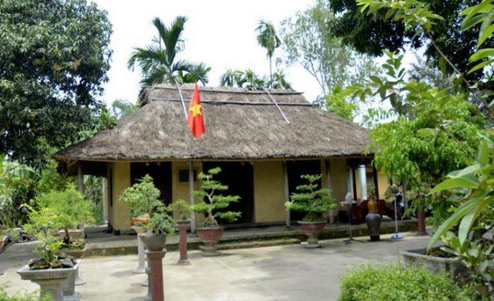 Một góc nhà lưu niệm Huỳnh Thúc Kháng.
