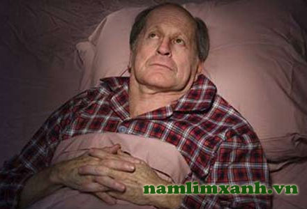 Mất ngủ là hiện tượng thường gặp ở người già