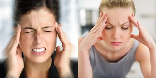 Bệnh tai biến mạch máu não biểu hiện bằng việc đau đầu dữ dội do mạch máu bị nghẽn lại