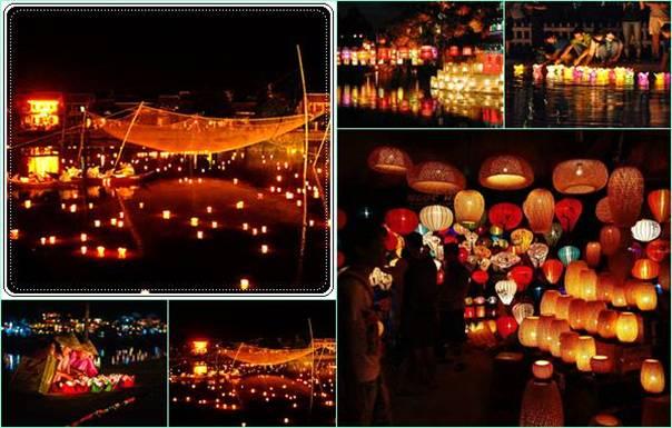 Lễ hội nổi tiếng ở Quảng Nam phải kể đến đêm rằm Hội An.