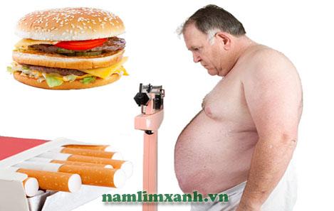 Ít vận động, dinh dưỡng không hợp lý làm gia tăng rối loạn mỡ máu