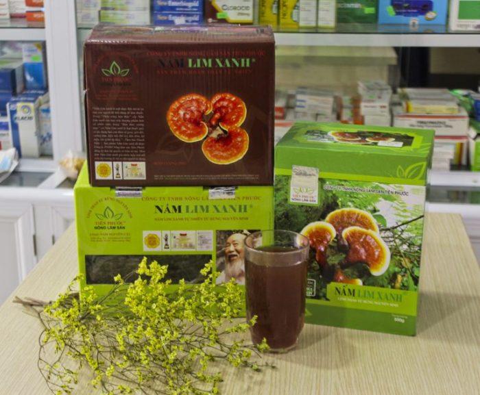 Nấm lim xanh là thảo dược có công dụng điều trị nhiều căn bệnh như mỡ máu, tiểu đường, huyết áp, tim mạch...