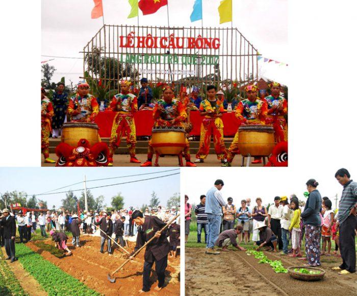 Lễ hội Cầu Bông mong mùa màng bội thu ở Quảng Nam.