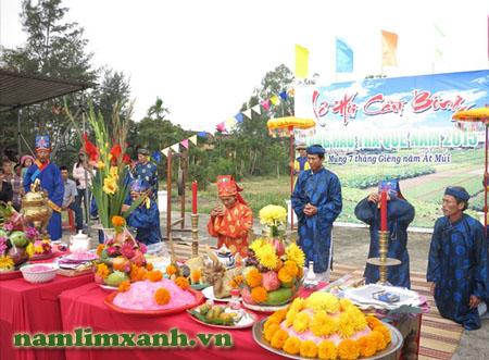 Lễ hội Cầu Bông tại Quảng Nam