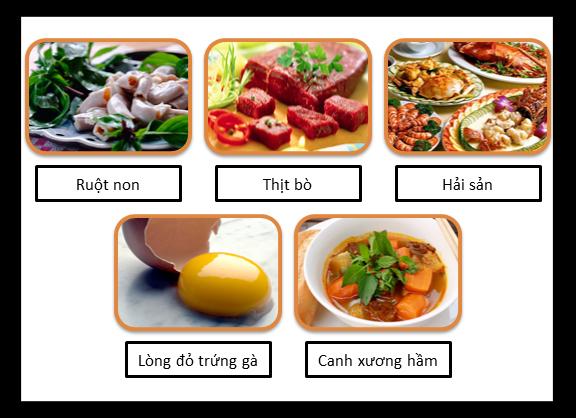 Các loại thực phẩm là nguyên nhân dẫn đến bệnh gout