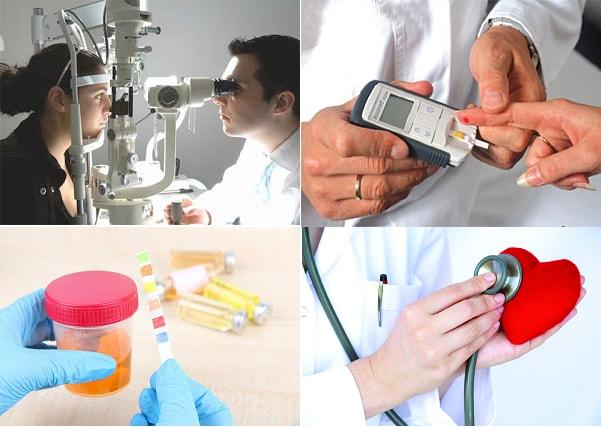 Phòng biến chứng bệnh tiểu đường nhờ kiểm tra tim mạch, mắt...