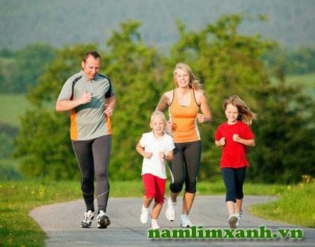 Nâng cao sức khỏe nhờ tập luyện và thay đổi lối sống