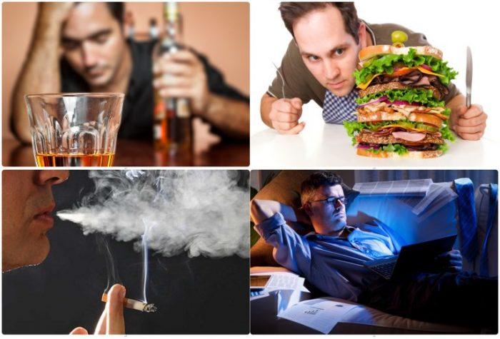 Những thói quen gây hại gan thường thấy ở nhiều người.