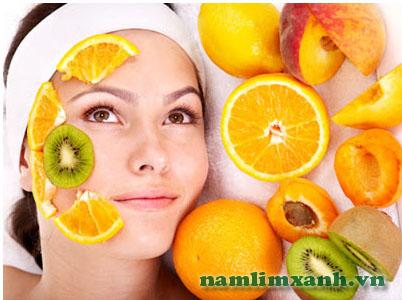 Vitamin và khoáng chất trong hoa quả giúp tái tạo và làm da trắng tự nhiên