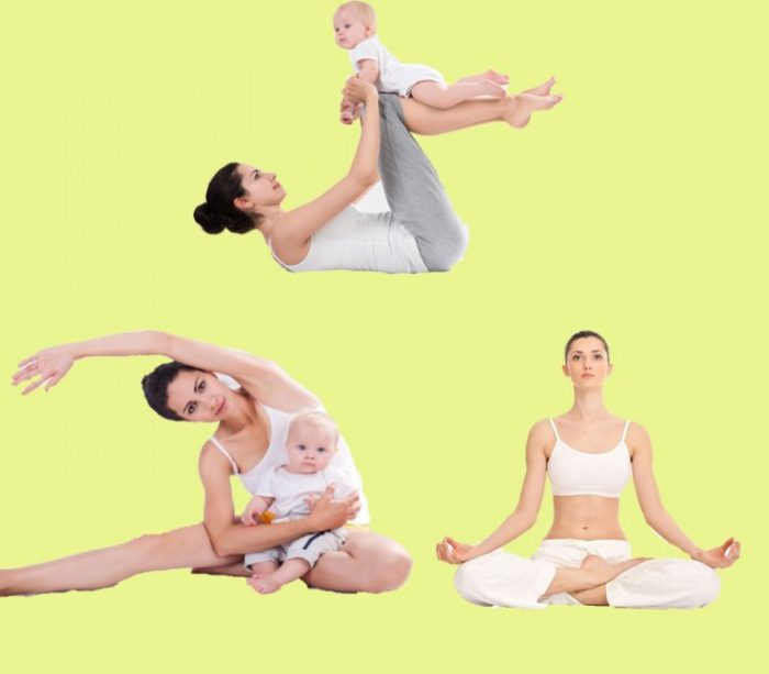Giảm cân sau sinh mổ bằng các động tác tập luyện đơn giản