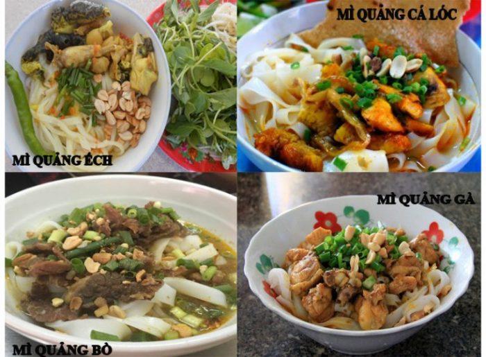 Đặc sản Quảng Nam phải thưởng thức ngay là mì Quảng.