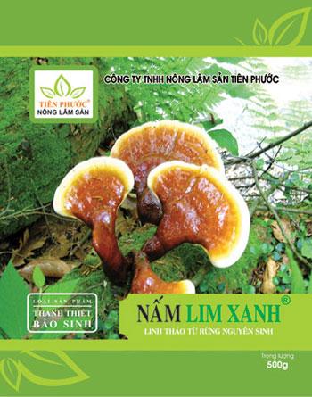 Sản phẩm Nấm lim xanh được chế biến theo bài thuốc Thanh Thiết Bảo Sinh