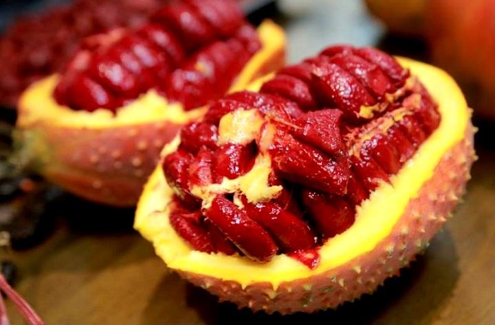 Gấc là loại thực phẩm giúp phòng tránh ung thư hiệu quả