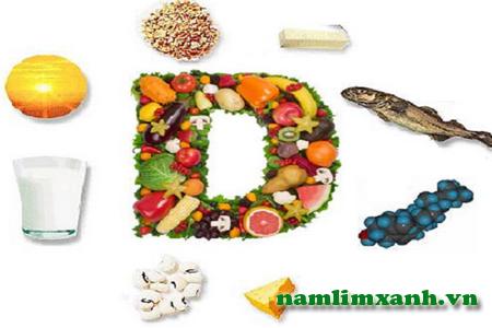 Tăng cường vitamin D