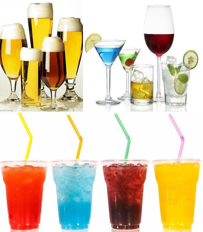 Người tiểu đường không nên uống nước ngọt, nước có cồn.