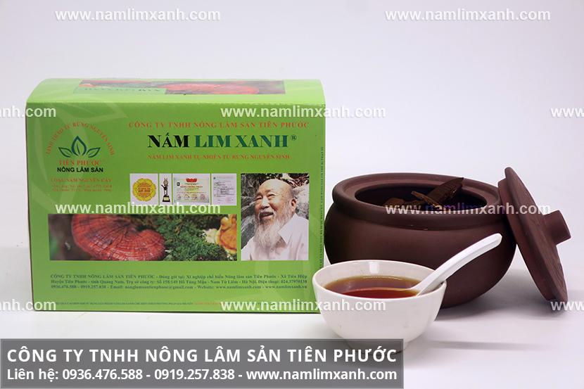 Nấm lim xanh giải độc gan với công dụng của nấm lim rừng Tiên Phước