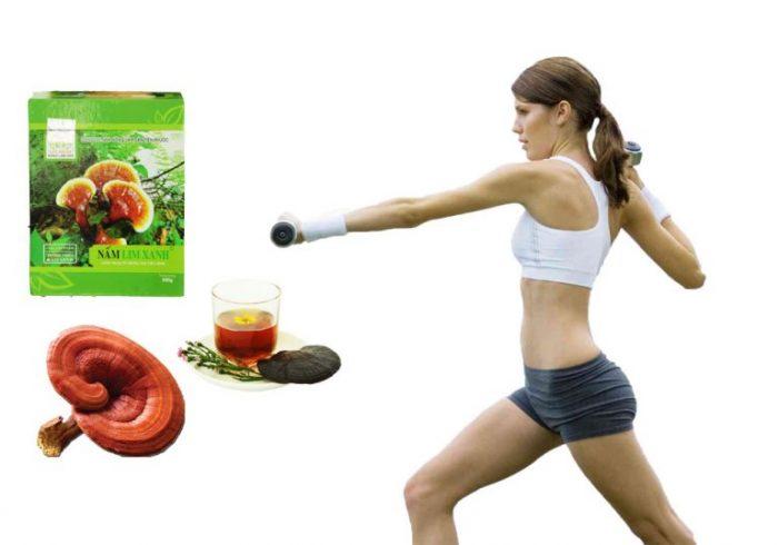 Nấm lim xanh có tác dụng tốt cho việc bảo vệ sức khỏe.