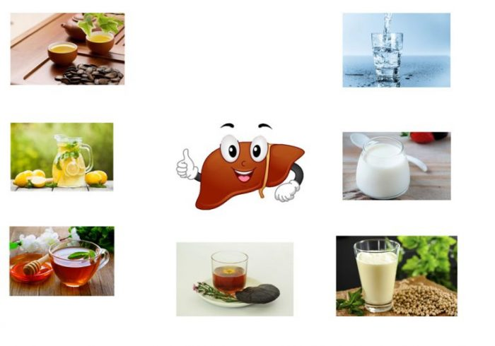 Các loại nước uống giúp giải độc gan hiệu quả