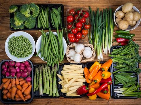 giảm cân ăn gì nấm lim xanh rau củ