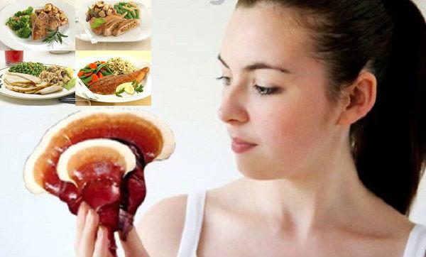 Thực đơn cho người tiểu đường gồm nấm lim xanh và một số thực phẩm khác