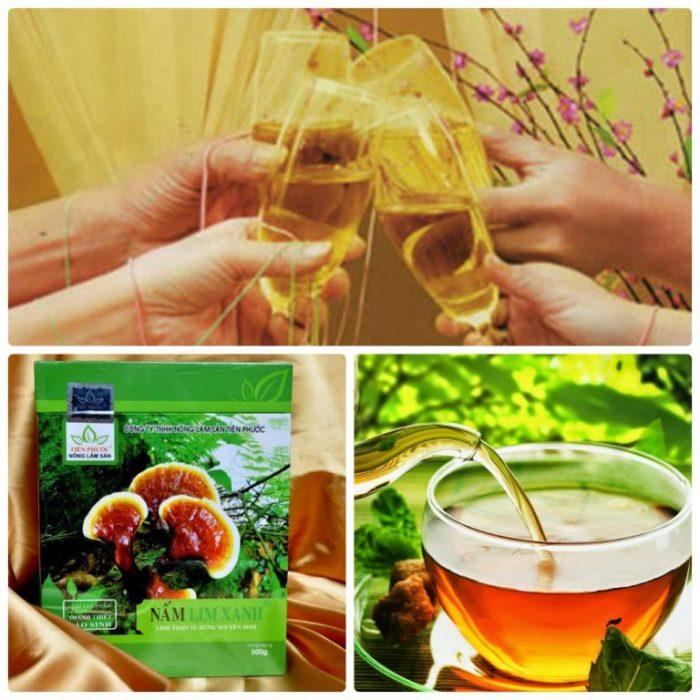 Nấm lim xanh hỗ trợ giải độc gan và hệ tiêu hóa cho ngày Tết trọn vẹn