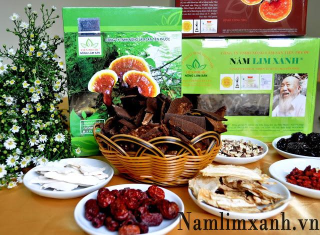 Nấm lim xanh gia truyền của Công ty TNHH Nấm Lim Xanh Việt Nam