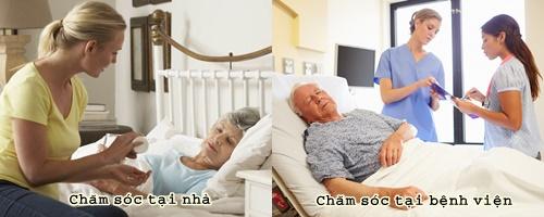 Chăm sóc bệnh nhân ung thư tại nhà giúp người bệnh kéo dài tuổi thọ hơn chăm sóc tại bệnh viện