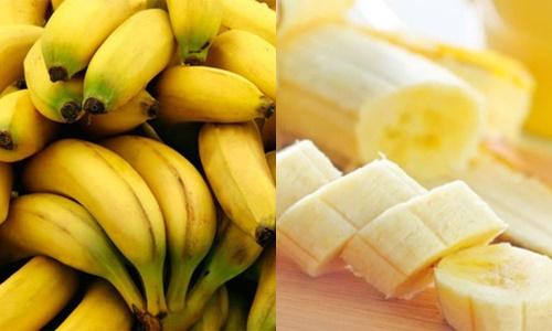 Chuối là hoa quả tốt cho người đau dạ dày bởi chứa dược chất: chất xơ, protein,magie...