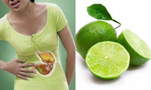 Chanh không phải là hoa quả tốt cho người đau dạ dày bởi lượng axit trong chanh rất lớn gây hư hại bao tử
