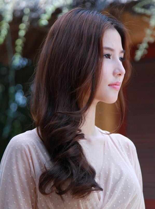 tóc óng mượt chắc khỏe nấm lim xanh