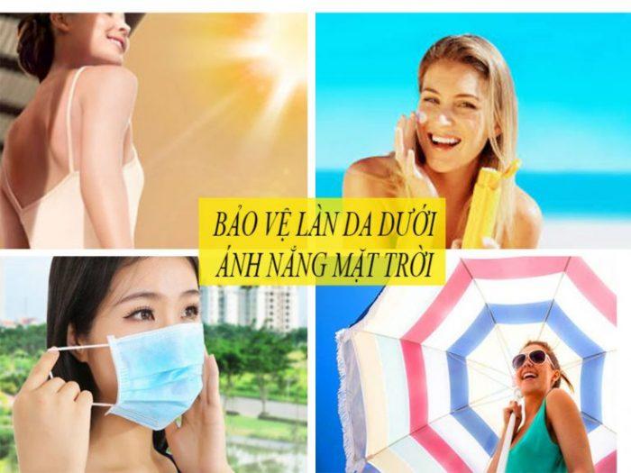 Hãy bảo vệ da khỏi nắng mặt trời để trông trẻ hơn tuổi thật.